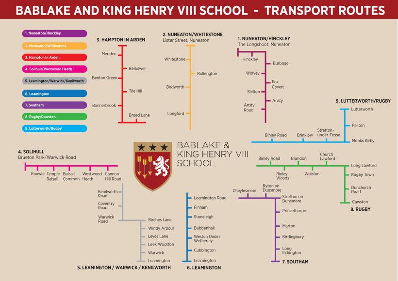 BKHS transport routes 2021